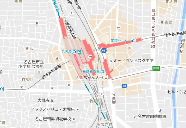 Nagoyashiki chizu